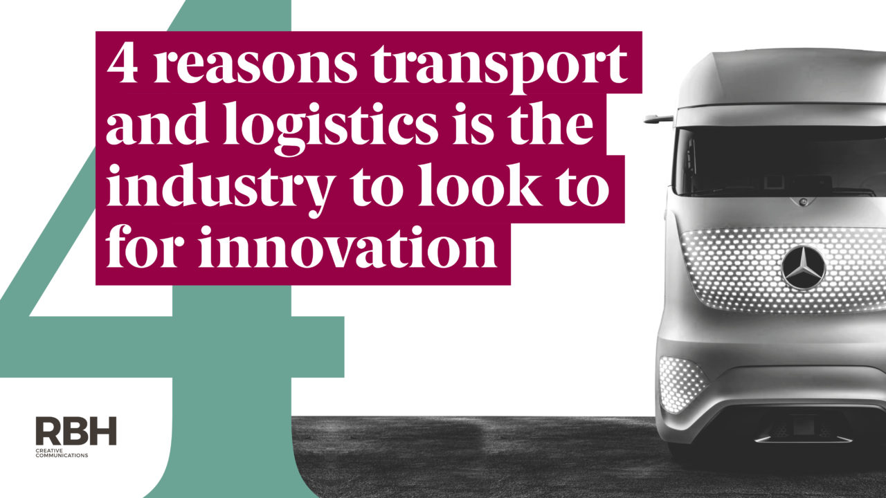 Four reasons transport and logistics is the industry to look to for innovation
