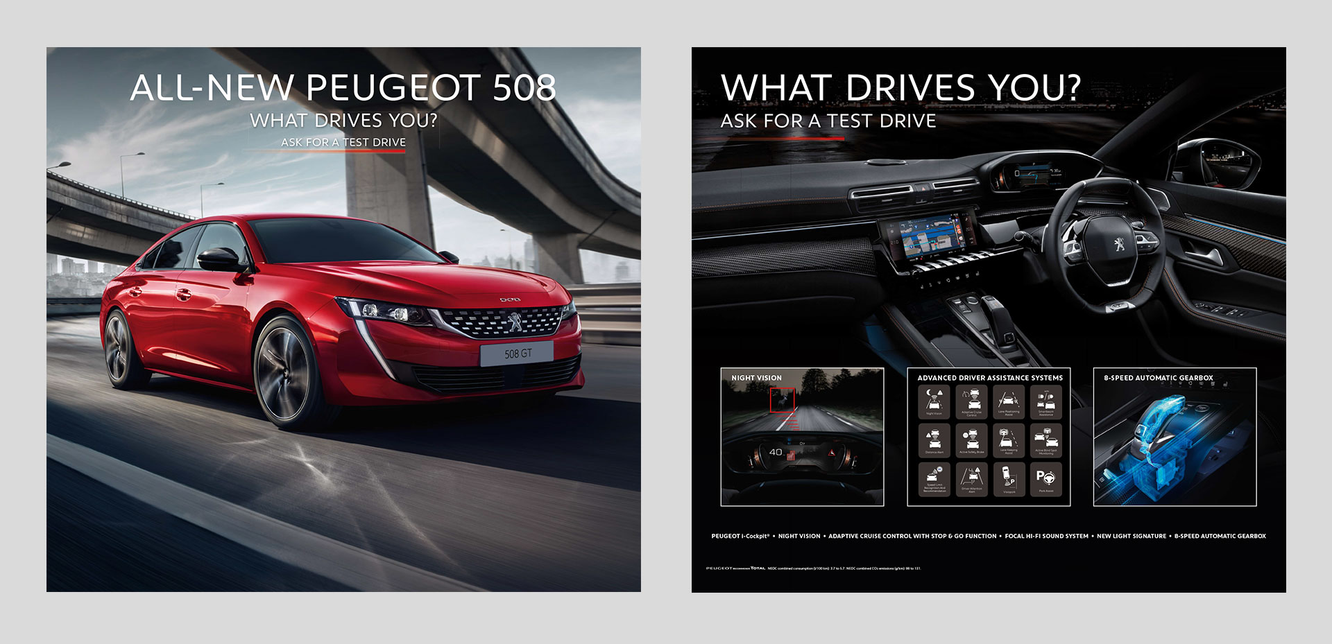 Peugeot Dealer Marketing Launch of the All-New PEUGEOT 508