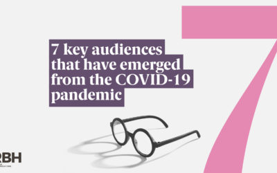 7 Key audiences that have emerged from the Covid-19 pandemic