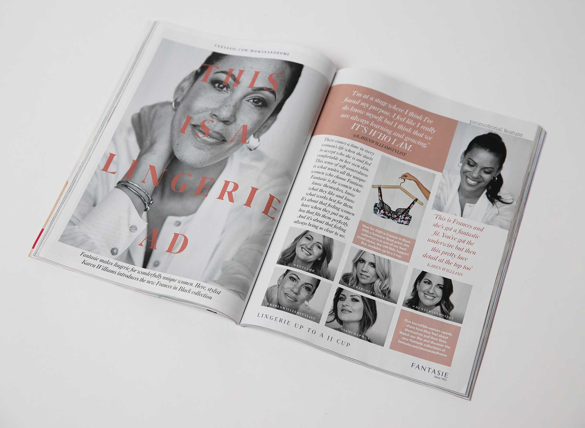 Fantasie - It's Who I Am - Advertorial