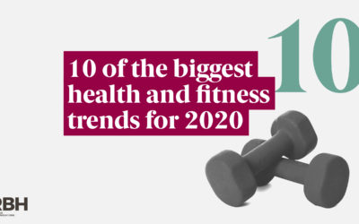 10 of the biggest health and fitness trends for 2020