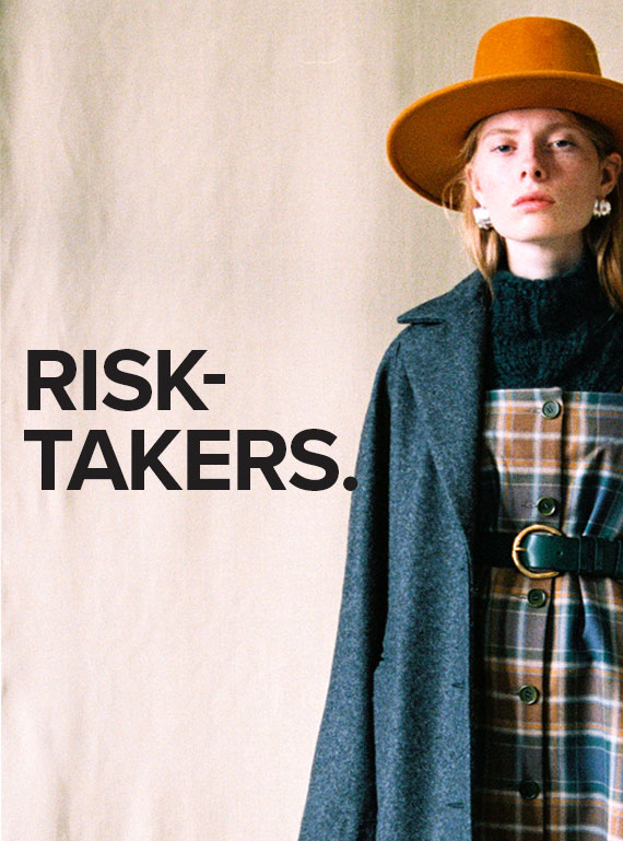 Young British Designers Unestablished Since 2010 - Risk Takers